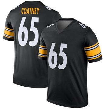 Youth Nike Pittsburgh Steelers Josiah Coatney Black Jersey - Legend