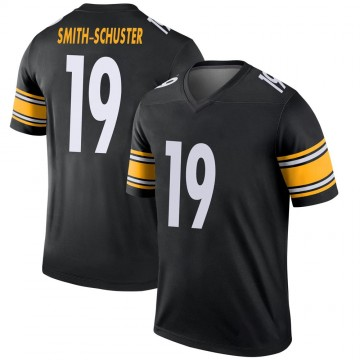 Youth Nike Pittsburgh Steelers JuJu Smith-Schuster Black Jersey - Legend