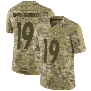 Youth Nike Pittsburgh Steelers JuJu Smith-Schuster Camo 2018 Salute to Service Jersey - Limited