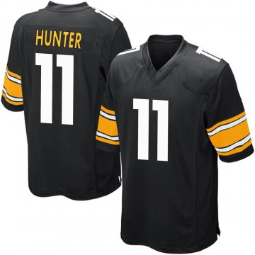 Youth Nike Pittsburgh Steelers Justin Hunter Black Team Color Jersey - Game
