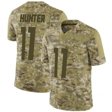 Youth Nike Pittsburgh Steelers Justin Hunter Camo 2018 Salute to Service Jersey - Limited