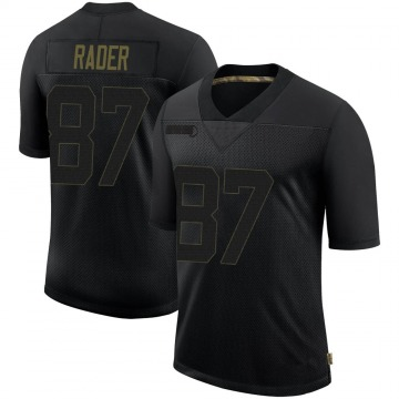 Youth Nike Pittsburgh Steelers Kevin Rader Black 2020 Salute To Service Jersey - Limited