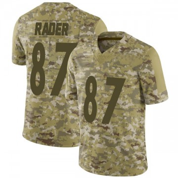 Youth Nike Pittsburgh Steelers Kevin Rader Camo 2018 Salute to Service Jersey - Limited