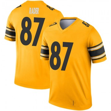 Youth Nike Pittsburgh Steelers Kevin Rader Gold Inverted Jersey - Legend