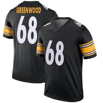 Youth Nike Pittsburgh Steelers L.C. Greenwood Green Black Jersey - Legend