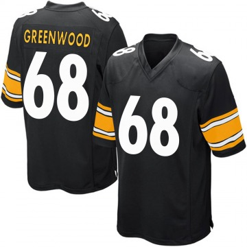 Youth Nike Pittsburgh Steelers L.C. Greenwood Green Black Team Color Jersey - Game