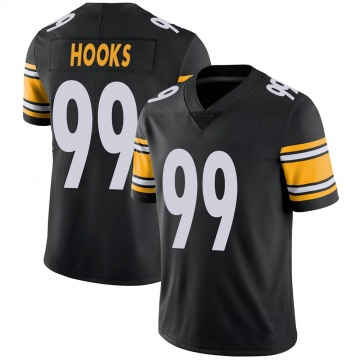 Youth Nike Pittsburgh Steelers Lavon Hooks Black 100th Vapor Jersey - Limited