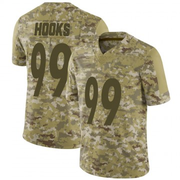 Youth Nike Pittsburgh Steelers Lavon Hooks Camo 2018 Salute to Service Jersey - Limited