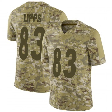 Youth Nike Pittsburgh Steelers Louis Lipps Camo 2018 Salute to Service Jersey - Limited