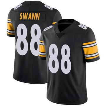 Youth Nike Pittsburgh Steelers Lynn Swann Black 100th Vapor Jersey - Limited