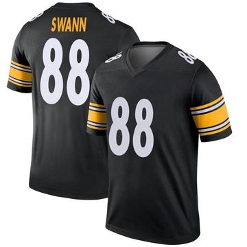 Youth Nike Pittsburgh Steelers Lynn Swann Black Jersey - Legend