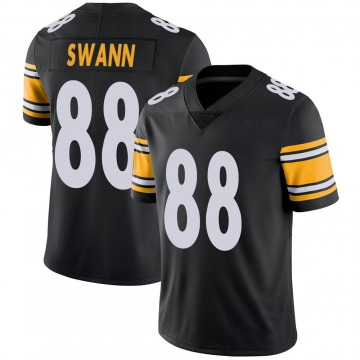 Youth Nike Pittsburgh Steelers Lynn Swann Black Team Color Vapor Untouchable Jersey - Limited