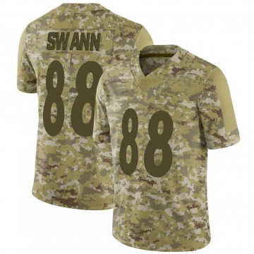 Youth Nike Pittsburgh Steelers Lynn Swann Camo 2018 Salute to Service Jersey - Limited