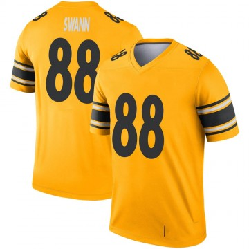 Youth Nike Pittsburgh Steelers Lynn Swann Gold Inverted Jersey - Legend