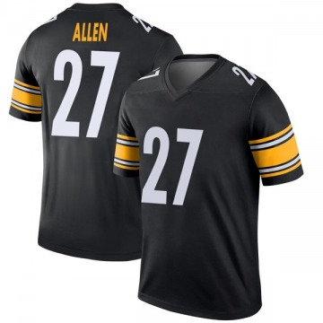 Youth Nike Pittsburgh Steelers Marcus Allen Black Jersey - Legend