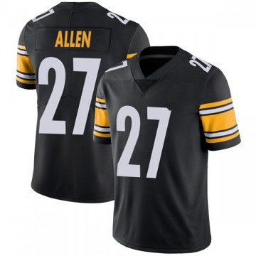 Youth Nike Pittsburgh Steelers Marcus Allen Black Team Color Vapor Untouchable Jersey - Limited