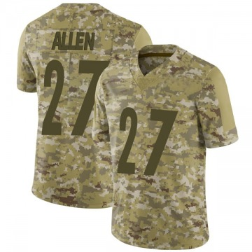 Youth Nike Pittsburgh Steelers Marcus Allen Camo 2018 Salute to Service Jersey - Limited