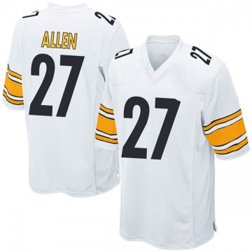 Youth Nike Pittsburgh Steelers Marcus Allen White Jersey - Game
