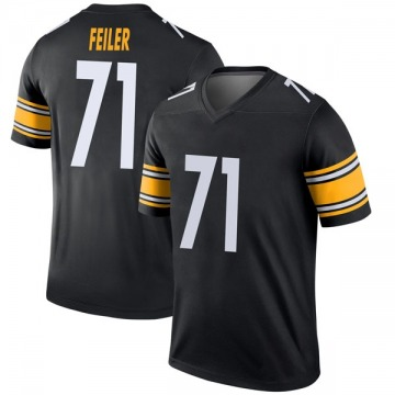 Youth Nike Pittsburgh Steelers Matt Feiler Black Jersey - Legend