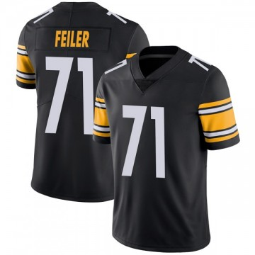 Youth Nike Pittsburgh Steelers Matt Feiler Black Team Color Vapor Untouchable Jersey - Limited