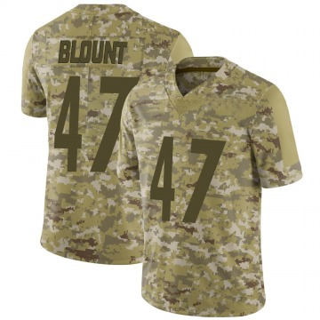 Youth Nike Pittsburgh Steelers Mel Blount Camo 2018 Salute to Service Jersey - Limited