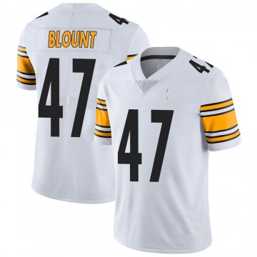 Youth Nike Pittsburgh Steelers Mel Blount White Vapor Untouchable Jersey - Limited