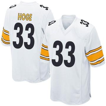 Youth Nike Pittsburgh Steelers Merril Hoge White Jersey - Game