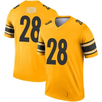 Youth Nike Pittsburgh Steelers Mike Hilton Gold Inverted Jersey - Legend