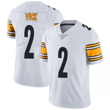 Youth Nike Pittsburgh Steelers Mike Vick White Vapor Untouchable Jersey - Limited