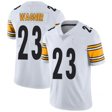 Youth Nike Pittsburgh Steelers Mike Wagner White Vapor Untouchable Jersey - Limited