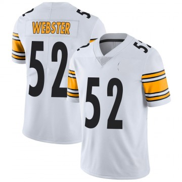 Youth Nike Pittsburgh Steelers Mike Webster White Vapor Untouchable Jersey - Limited
