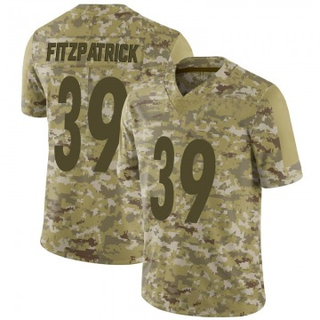 Youth Nike Pittsburgh Steelers Minkah Fitzpatrick Camo 2018 Salute to Service Jersey - Limited