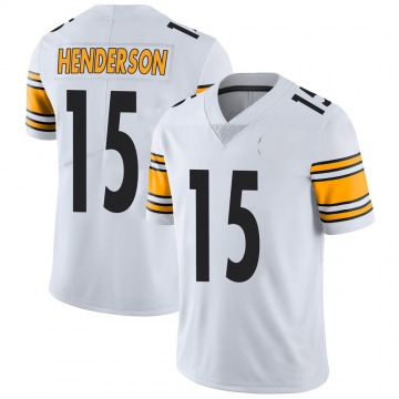 Youth Nike Pittsburgh Steelers Quadree Henderson White Vapor Untouchable Jersey - Limited