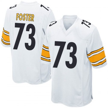 Youth Nike Pittsburgh Steelers Ramon Foster White Jersey - Game