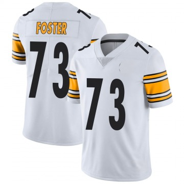 Youth Nike Pittsburgh Steelers Ramon Foster White Vapor Untouchable Jersey - Limited