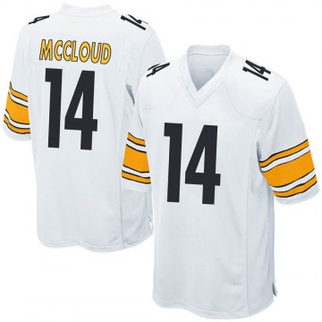 Youth Nike Pittsburgh Steelers Ray-Ray McCloud III White Jersey - Game