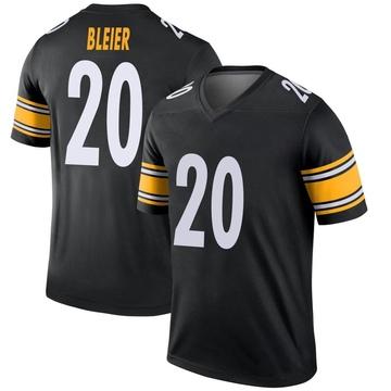 Youth Nike Pittsburgh Steelers Rocky Bleier Black Jersey - Legend