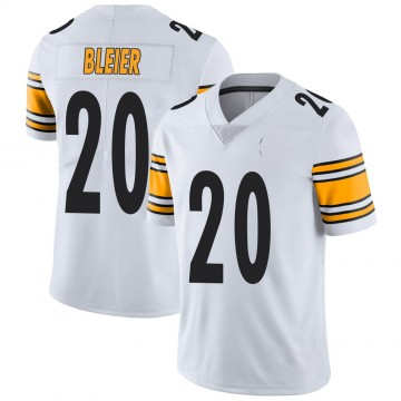Youth Nike Pittsburgh Steelers Rocky Bleier White Vapor Untouchable Jersey - Limited