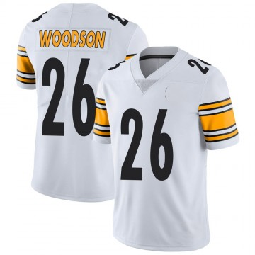 Youth Nike Pittsburgh Steelers Rod Woodson White Vapor Untouchable Jersey - Limited
