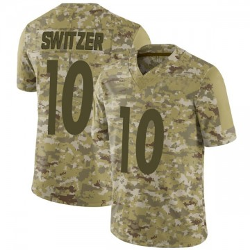 Youth Nike Pittsburgh Steelers Ryan Switzer Camo 2018 Salute to Service Jersey - Limited