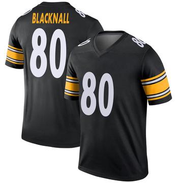 Youth Nike Pittsburgh Steelers Saeed Blacknall Black Jersey - Legend