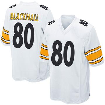 Youth Nike Pittsburgh Steelers Saeed Blacknall White Jersey - Game