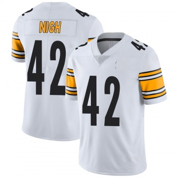 Youth Nike Pittsburgh Steelers Spencer Nigh White Vapor Untouchable Jersey - Limited