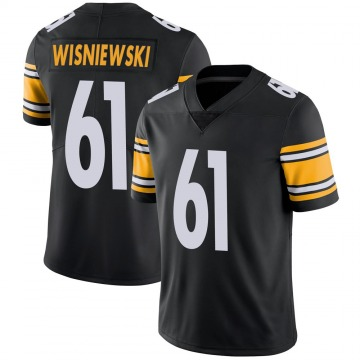 Youth Nike Pittsburgh Steelers Stefen Wisniewski Black Team Color Vapor Untouchable Jersey - Limited