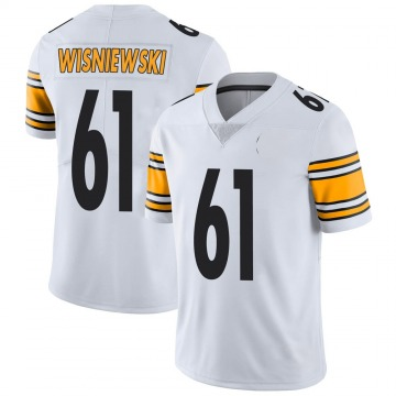 Youth Nike Pittsburgh Steelers Stefen Wisniewski White Vapor Untouchable Jersey - Limited