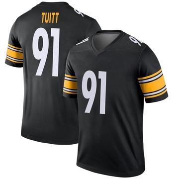 Youth Nike Pittsburgh Steelers Stephon Tuitt Black Jersey - Legend