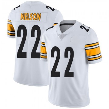 Youth Nike Pittsburgh Steelers Steven Nelson White Vapor Untouchable Jersey - Limited
