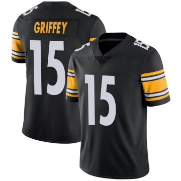 Youth Nike Pittsburgh Steelers Trey Griffey Black Team Color Vapor Untouchable Jersey - Limited