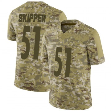 Youth Nike Pittsburgh Steelers Tuzar Skipper Camo 2018 Salute to Service Jersey - Limited