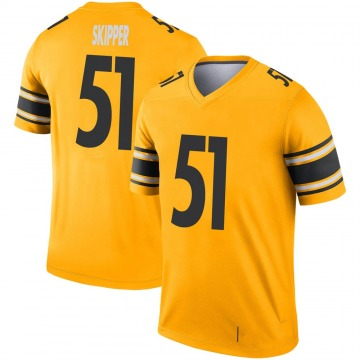 Youth Nike Pittsburgh Steelers Tuzar Skipper Gold Inverted Jersey - Legend